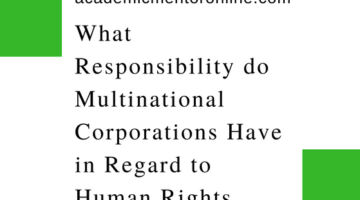 MNCs and Human Rights