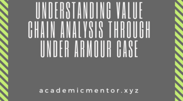 value chain analysis of under armour case
