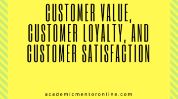impact of customer value on customer satisfaction